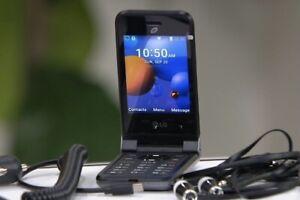 LG Classic Flip TracPhone Prepaid Cellphone