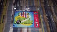 Super Bowling (Nintendo 64, 2001) N64 New Factory Sealed VGA Graded 85 Not WATA