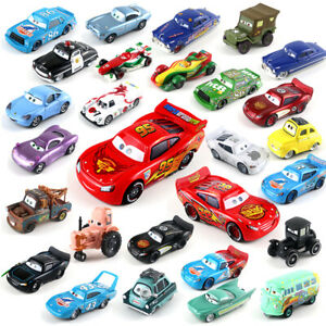 All Series McQueen Disney Pixar Cars 1:55 Diecast Model Car Toy Kids Xmas Gift