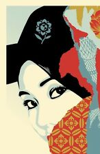 Shepard Fairey Drink Crude Oil art print/poster Obey Giant