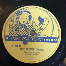 Tops For Tots 45rpm Childrens Record
