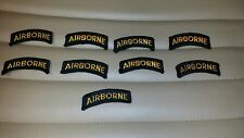 Airborne Rocker Military Patches - Lot of 9