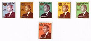 Morocco Royalty King Hassan II set 1983 MLH