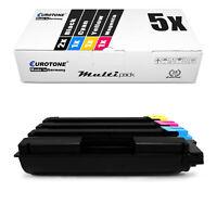 5x Eurotone ECO Toner für Kyocera FS-C-2526-MFP FS-C-5250-DN FS-C-2126-MFP