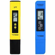 VIVOSUN pH and TDS Meter Combo, 0.05ph High Accuracy Pen Type pH Meter +/- 2%