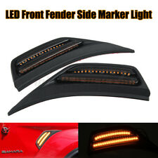 LED Front Fender Side Marker Light Turn Signal Lamp For Wrangler JL 2018 2019