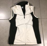Women's COLUMBIA TITANIUM OMNI DRY Sz L full zip soft shell vest jacket Large