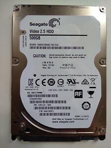 "Seagate ST500VT000 1DK142-500 500GB 5400RPM 2.5"" HDD Hard Disk Drive"