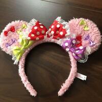 Tokyo Disney Land Full Full Fruit Watermelon MINNIE MOUSE Headband Big Ear