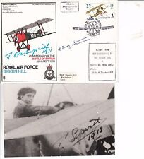 Great War aircraft designer Tom Sopwith signed cover