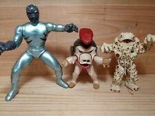 Vintage 1990's Action Figure Lot Power Rangers Bandai Toys