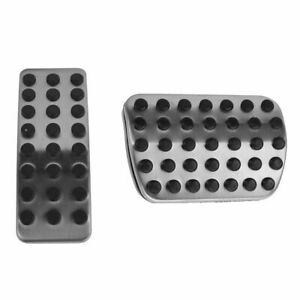 OEM AMG Style Brake & Gas Pedal Pad Pair for Mercedes M-Class GL-Class R-Class