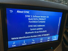 FORD OEM SYNC 3 UPDATE UPGRADE 1.0 2.2 2.3 3.0 TO 3.4 Sync3 W/FACTORY NAV 1-18 !