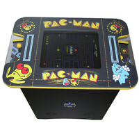 Retro Arcade Cocktail Table Machine | 60 retro games | Pac Man Themed