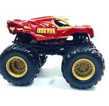 Hot Wheels Monster Jam Iron Man Monster Truck Diecast Metal Car Loose 2010