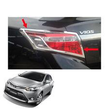 For Toyota Vios Belta Yaris Sedan 13 14 16 17 Tail Lamp Light Cover Chrome Trim