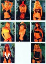 "HOTTIES ""COMPLETE 8 CARD SET"" BENCHWARMER 2004 SERIES 2"