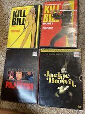 Tarantino movie bundle Pulp Fiction Kill Bill Jackie Brown Movie Lot