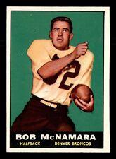 BOB McNAMARA 1961 TOPPS 1961 NO 196 EXMINT+ 19439