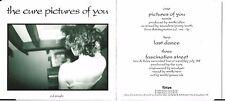 MAXI CD 3 TITRES THE CURE PICTURES OF YOU DE 1990  Fiction Records – FICDA 34