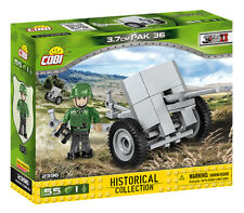 BRICKS COBI 2396 SMALL ARMY 3,7cm Pak 36 55 ELEMENT 1 FIGURES WW2
