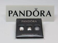 New Pandora April Rock Crystal & Clear CZ Petite Mini Charms 792091RC 4 LOCKET