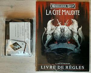 Materiel en Francais -Warhammer quest - Cité maudite (cursed City) Age of sigmar