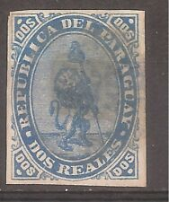 Paraguay   Sc# 2   Used   1870   Cat Val $150