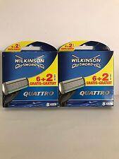 16 Rasierklingen Wilkinson Sword Quattro  Ersatzklingen ! TOP ANGEBOT !