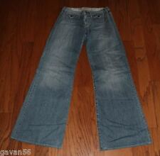 "EUC 1921 Loose Fit Wide Leg Bell Bottom Jeans-Size 28-34"" Inseam-Japanese Denim"