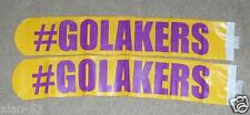 LOS ANGELES LAKERS ~THUNDER STICKS ~ HECKLE BANGERS ~ GO PURPLE & GOLD!!! ~ NEW