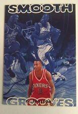 Allen Iverson  Smooth Grooves Rookie Card # SG10 1996 1997 Upper Deck RARE!