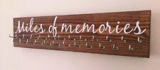 Runner/Sports Medal Hanger. 25 hook. Indian Rosewood. Miles Of Memories