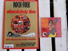 Rock & Folk Numéro Collector +  Cd Rock & Folk