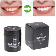 Bottokan Natural Organic Activated Bamboo Charcoal Toothpaste Whitening Powder