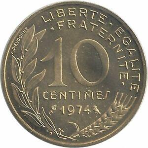 FRANCE 10 CENTIMES LAGRIFFOUL 1974 FDC