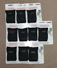 JOB LOT X 10 Cobra Camera Pouchs - Black Small Carry Case For Digital Camera