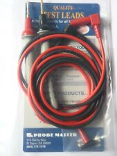 Probe Master multimeter test leads, model 8017S, Made in the USA