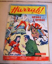 HURRAH N° 23 HEBDOMADAIRE 1954 ROBIN DES BOIS DUCK HURRICANE HEROS DANS L OMBRE