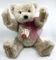 Hermann Teddy Bear Lothar Mohair Plush 55cm 22in LE 1000 Jointed Growler Cert