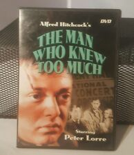 The Man Who Knew Too Much (DVD, 2001)