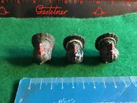 Vintage Britains  Lead Farm.3 X Turkeys. 1/32 Scale.