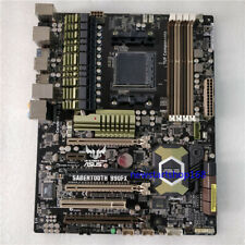 100% Test ASUS TUF SABERTOOTH 990FX Motherboard DDR3 ATX M.2 Socket AM3+