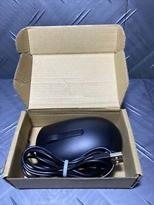 Dell 49PRO Optical USB Wired Scroll Mouse - Black