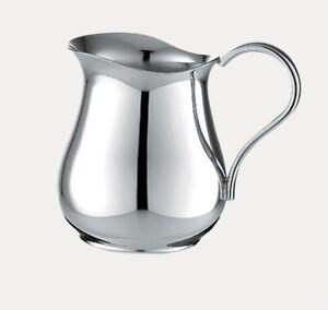 New In Box Christofle France Albi/Bagatelle cream pitcher silver plate  8 3/4 oz