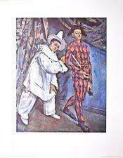 Paul Cezanne Mardi Gras Poster Kunstdruck Bild 72x57cm