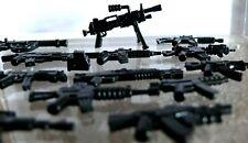 Lot D'armes Militaire Warfare ALLEMAND U.S Fusil Soldat Armes Compatibles LEGO