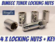 Locking Wheel Nuts S Tuner M12x1.5 Fits Ford Activa B max Bantum Capri Cortina
