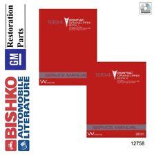 1994 pontiac grand prix shop service repair manual cd