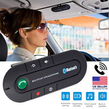 Wireless Bluetooth Speakerphone Car Auto Kit Handsfree Calling For Safe Driving